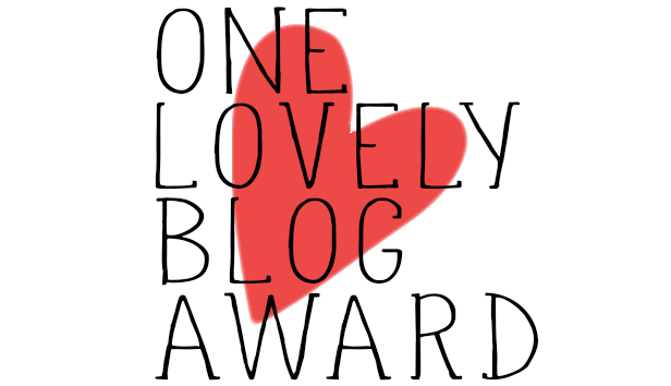 Woot Woot for My One Lovely Blog Award