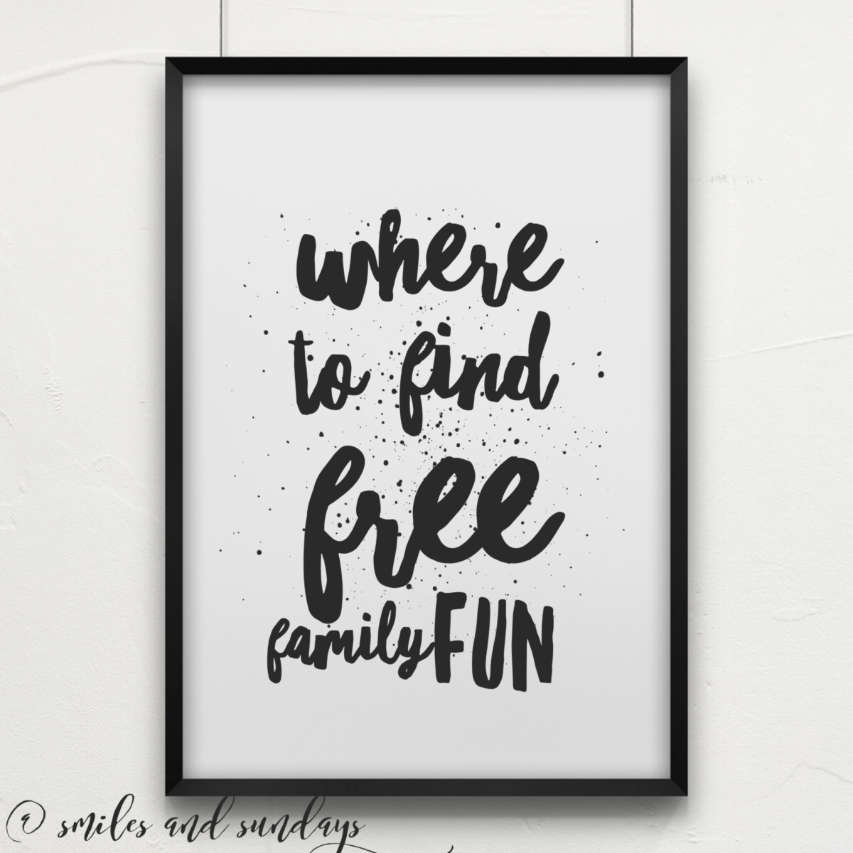 Where to Find Free Family Fun