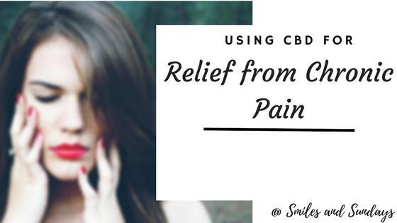 CBD for Chronic Pain: General Information