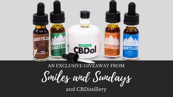 CBD Giveaway with the CBDistillery